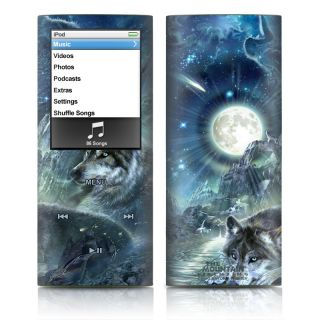 iPod Nano 4th Generation Skins Covers Cases Wolves Wolf
