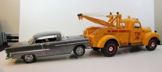 16 Highway 61 1948 KB 5 International Tow Truck Wrecker