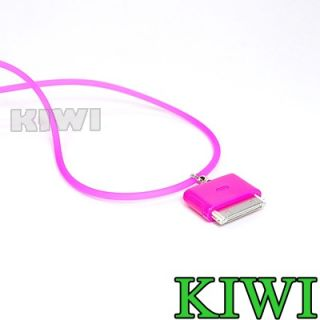 Pink Neck Strap Lanyard for iPod Touch iPhone 3G 4G 4