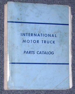1961 to 1966 International Trucks MT 236 Parts Catalog Gas & Diesel