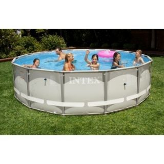 New Intex 14 x 42 Ultra Frame Swimming Pool Round
