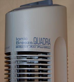 Ionic Breeze Quadra Silent Air Purifier Model No SI637