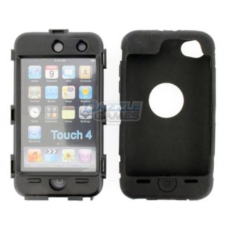 3Piece Hard Case Cover Skin for iPod Touch 4 4G 4th Gen New