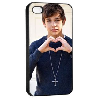 New Austin Mahone Photo Custom Apple iPhone 4 4S Seamless Case