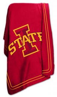 Iowa State University Cyclones ISU Fleece Throw Blanket