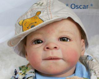 Adorable Arlington Babies Reborn Baby Boy Oscar Evelina Wosnjuk Kit No