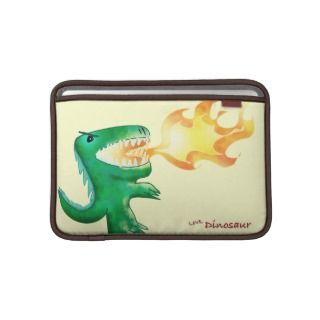 Dinosaur or Dragon by little t and Andrew Harmon MacBook Sleeves