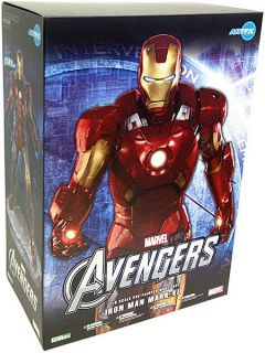 Avengers Movie Iron Man Mark VII 1 6 Scale Statue Figure