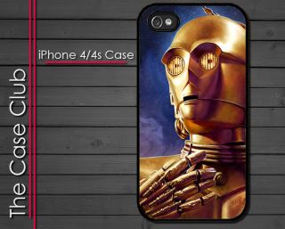 iPhone 4 Case iPhone 4s Cover C3PO Star Wars Clone Wars Slim Style
