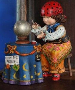 Gypsy Girl by Mary Engelbreit Collectible Figure for Bethany Lowe Me