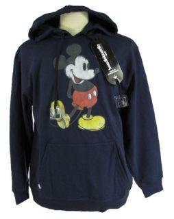 Hoodie Buddie Disney Classic Mickey Navy Blue Pullover Sweatshirt