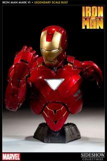 Sideshow Iron Man 2 Mark VI Legendary Scale Bust