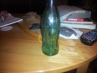 1915 Antique Coca Cola Bottle Made in Salt Lake City Utah