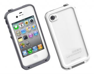 Lifeproof iPhone 4 4S Case Water Damage Shock Proof White