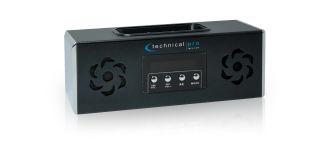 Pro BOOMBOX2 Portable Battery Powered Speaker,iPod Loading Dock Black