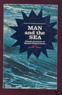 Man and The Sea Book Atlantis Isaac Newton Plato Huxley