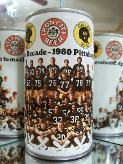 Iron City Pittsburgh Steelers Football Beer Can 79 40