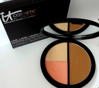 It Cosmetics Live Laugh Love Vitality Face Disc Bronzer Blush