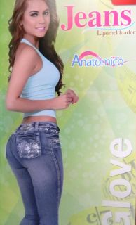 Jeans Levanta Cola Vsensuality colombiano Butt Lifter Jeans