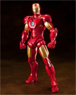 Revoltech Sci Fi EX 031 Iron Man Mark IV War Machine Action Figures