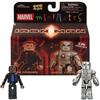 Marvel Minimates 21 Iron Man Jim Rhodes Mark I Iron Man
