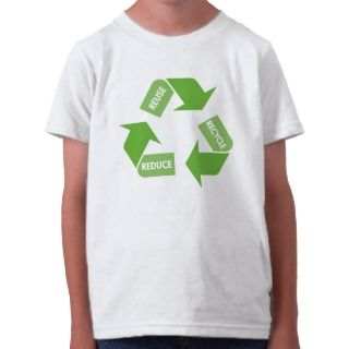 Recycle Reuse Reduce T Shirts