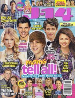 14 Magazine Justin Bieber Taylor Lautner Swift Gomez