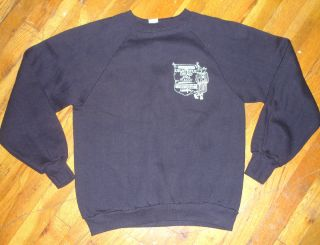 GRATEFUL DEAD* vtg concert tour promo sweat shirt 80s(M) Jerry Garcia