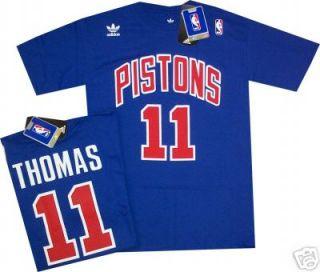 Isiah Thomas Detroit Pistons T Shirt Jersey XXL 1988