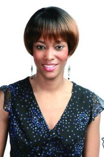 Cutie Side Skin Short Wig Bob Wig by Motown Tress