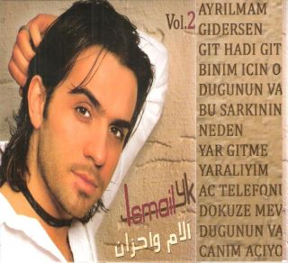 Ismail YK Pains Sorrow Songs Vol2 Ayrilmam Turkish CD