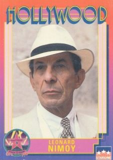 Leonard Nimoy Actor 1992 Hollywood Walk of Fame Card 8