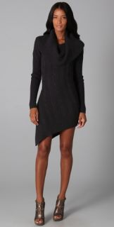 HHH by Haute Hippie Layer Up Cable Sweater Dress