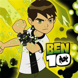 16 Ben10 Cake Napkins Cartoon Network Birthday Party Supplies