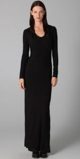 T by Alexander Wang Twist Long Sleeve Dress