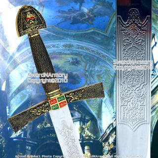 Ivanhoe Medieval Short Sword Knight Crusader Sword New