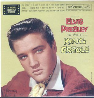 Elvis Presley King Creole LP VG++ Canada RCA LPM 1884 Original Black