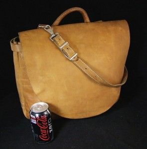 """Peterman, """"The Counterfeit Mailbag"""", Belting Leather Mail Bag"""
