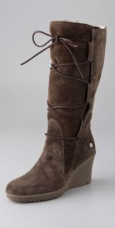 UGG Australia Elsey Tall Wedge Boots