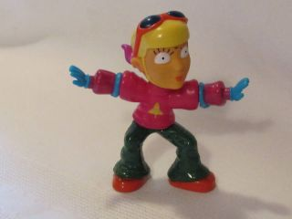 2002 Reggie Otto Sister Rocket Power Burger King Toy 3