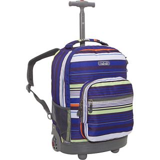 World Sunrise Rolling Backpack Horizon Navy