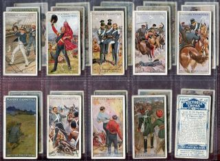 Tobacco Card Set John Player Victoria Cross VC Winners 1914