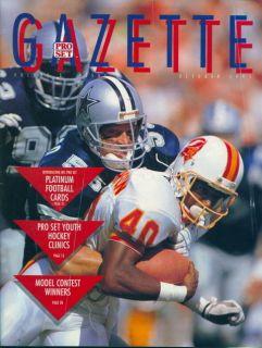 1991 Pro Set Gazette Magazine G Anderson Jack Del Rio