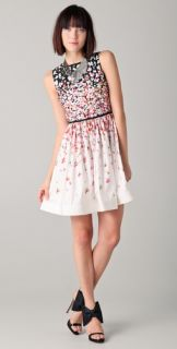 RED Valentino Sleeveless Floral Dress
