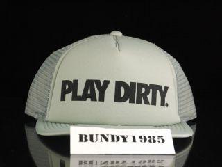 Undefeated Play Dirty Snapback Cool Grey Supreme Jordan SB Hundreds