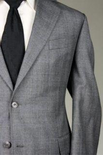 Vintage Jack Victor Custom Gray Check Wool Jacket Blazer 46 L