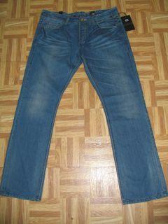 Jack Jones Distressed Denim Blue Jeans 38 34 JJ75