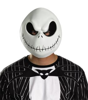 Adult Nightmare Before Christmas Jack Skellington Mask