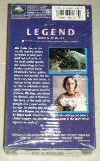 LEGEND SEALED VHS MOVIE, Universal 1985   Tom Cruise, Mia Sara, & Tim