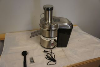 Jack Lalanne Power Juicer Pro Stainless Steel Electric Juice Extractor